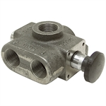 "1"" NPT 40 GPM Single Selector Valve Cross VS4BKLF7"