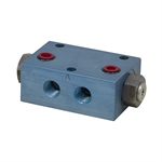 Rexnord PCD-F1-2G Dual Pilot-Operated Lock Valve Gasket Mount