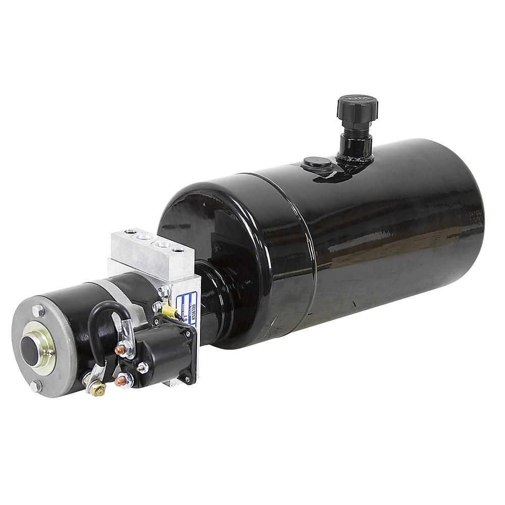 12 Volt DC 0.5 GPM 2250 PSI Barnes Hydraulic Power Unit