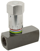 1/2 NPT 15 GPM Prince WFC-800 In-Line Flow Control