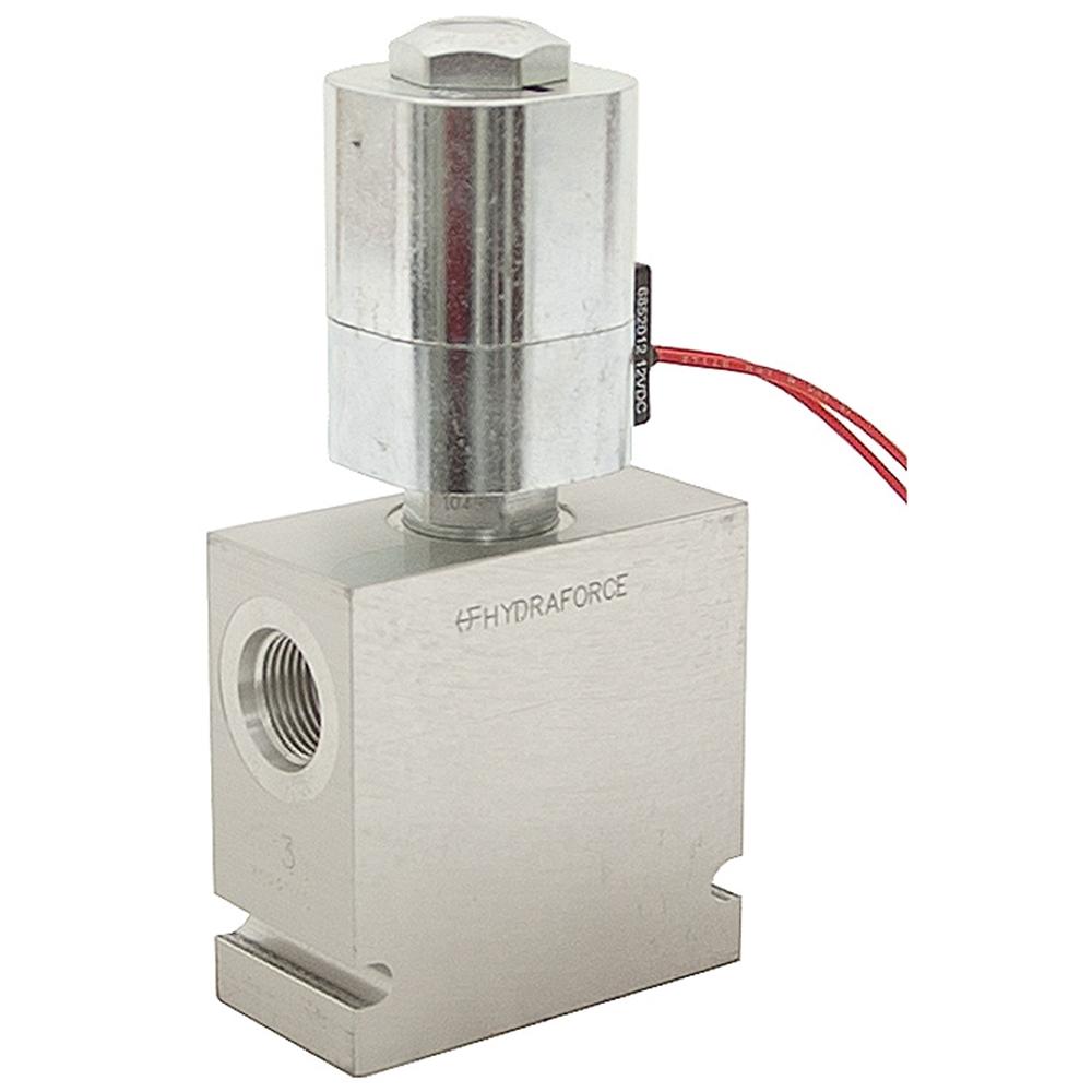 12v Hydraulic Selector Valve : Sae gpm volt dc hydraforce selector valve