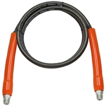 "1/4""x6' Power Team 9756 Hose w/ 3/8"" NPT Ends"