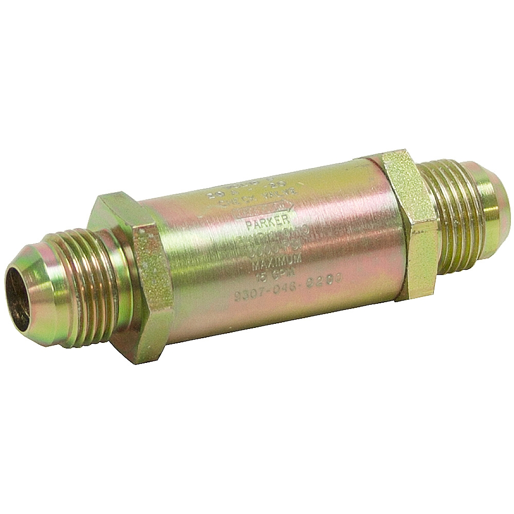 Sae gpm parker vcl f a hyd check valve