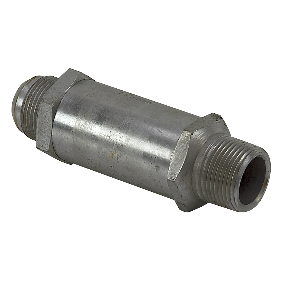 Inline check valve lock valves hydraulic
