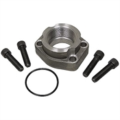 "1/2"" 4-Bolt Flange Code 61 To 1/2"" NPT Adapter Kit"