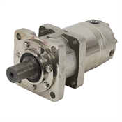 45.6 cu in White Hydraulic Motor 700750C8530ZABN Nickel-Plated