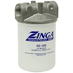 "1-1/4"" NPT 25 GPM 141 Micron Zinga Suction Filter"