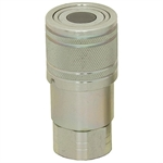 "3/4"" NPT Flush Face Quick Coupler Body ISO 16028"