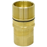 "1"" NPT Brass Wing-Nut Quick Coupler Tip Only"