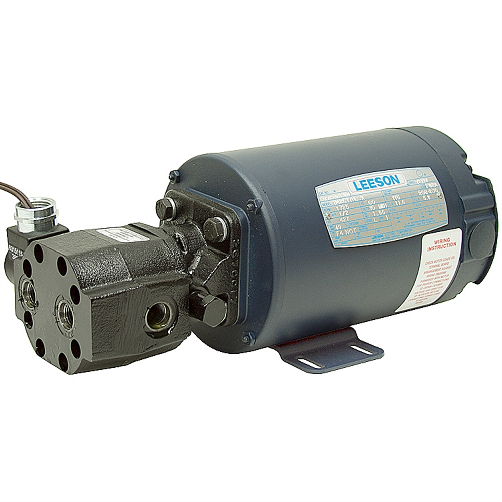 1 4 gpm 2500 psi 1 2 hp haldex pump motor unit ac power