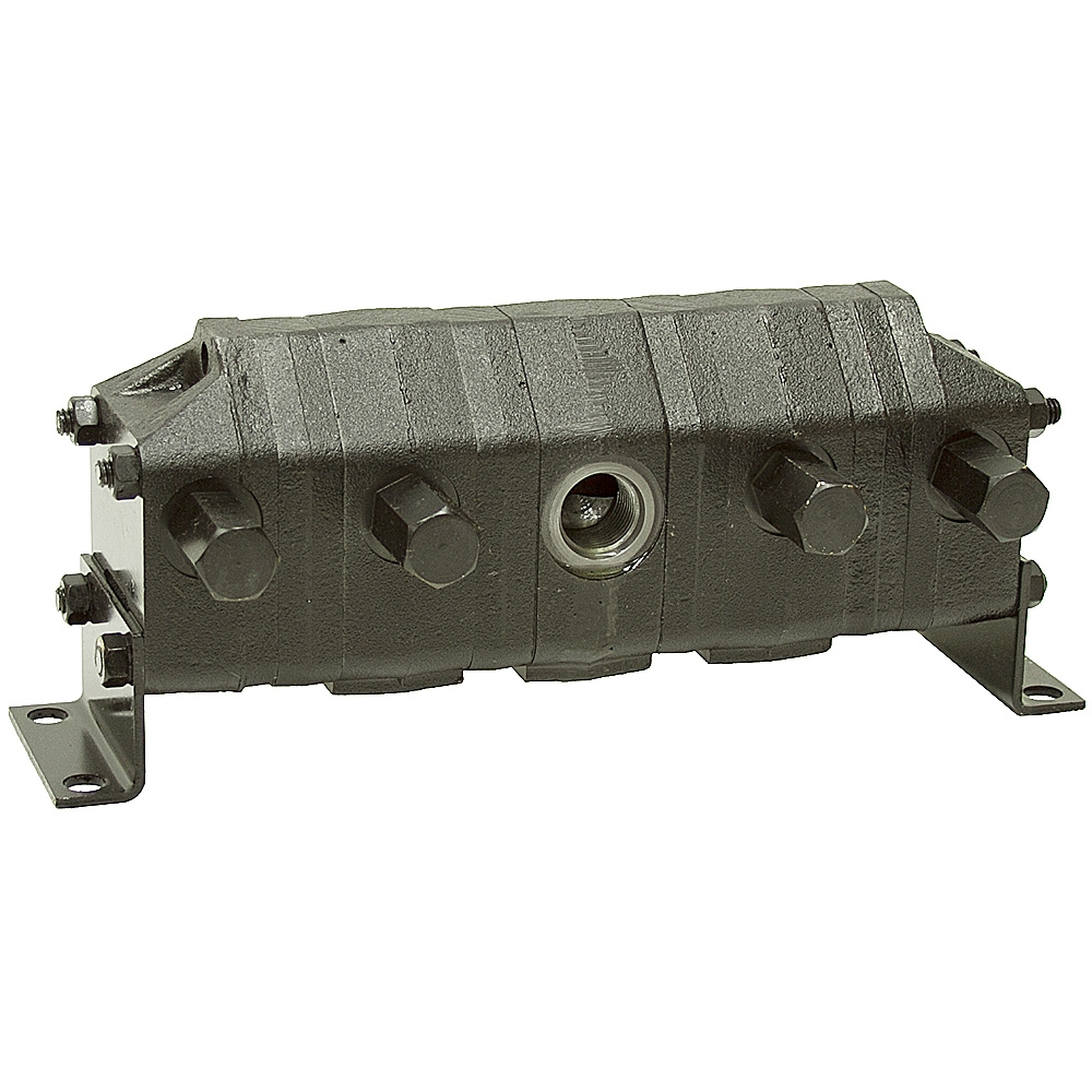 cu in 8 gpm 4 section rotary flow divider mte