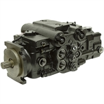 3.0 cu in Eaton 350 Dual Servo Hydrostatic Tandem Piston Pump