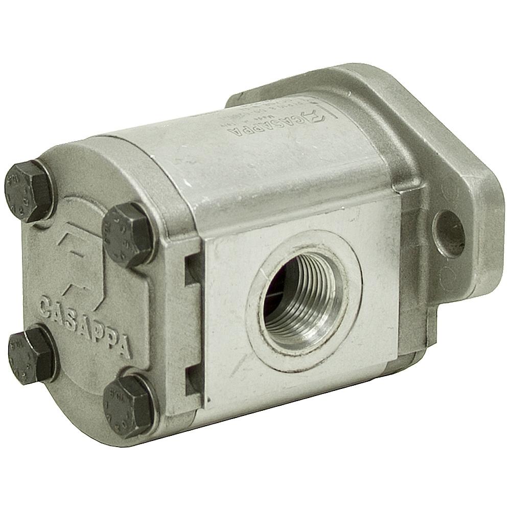 Cu in casappa plp10 8 hyd pump gear pumps for Hydraulic motor and pump