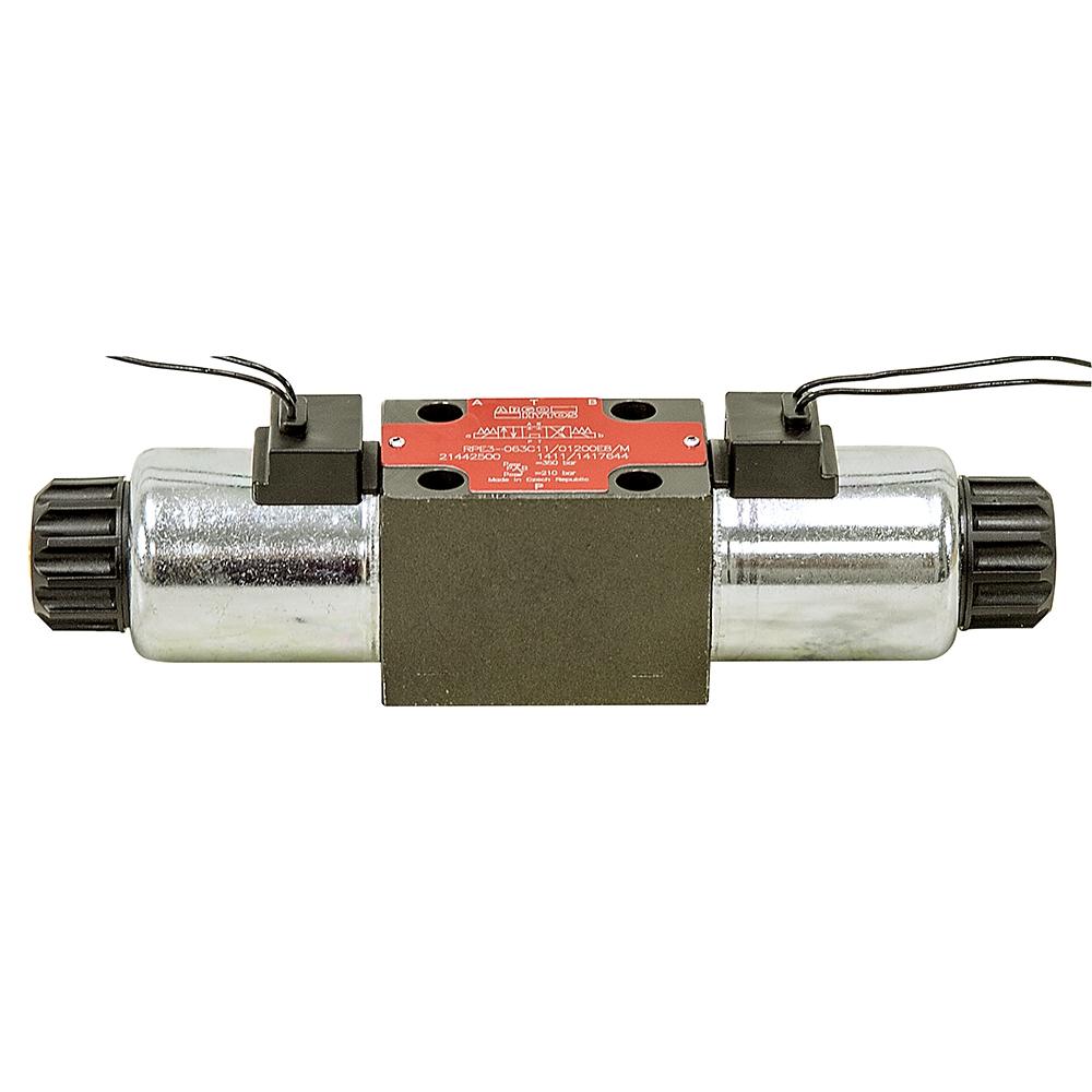 12 Volt Dc 21 Gpm Argo Rpe3 06 Da Hydraulic Do3 Solenoid Valve Relay Wiring Diagram