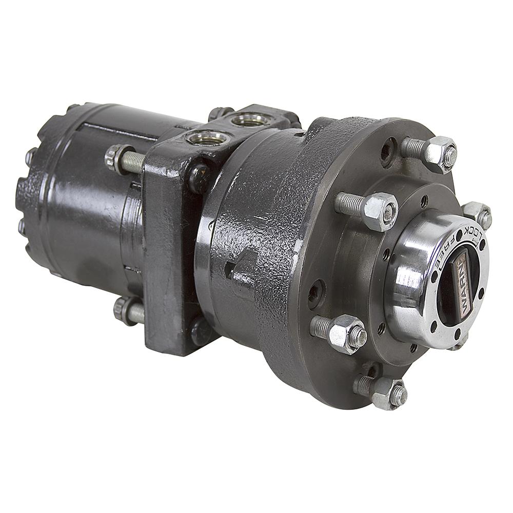 45 6 Cu In White Hydraulic Motor W Wheel Flange Locking