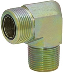 "ORFS 4 Male x 1/4"" NPT Male 90 Degree Elbow FF2501-04-04 Adapter"