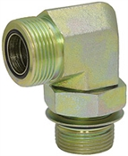 ORFS 6 Male x SAE 4 Male 90 Degree Elbow FF6801-06-04 Adapter