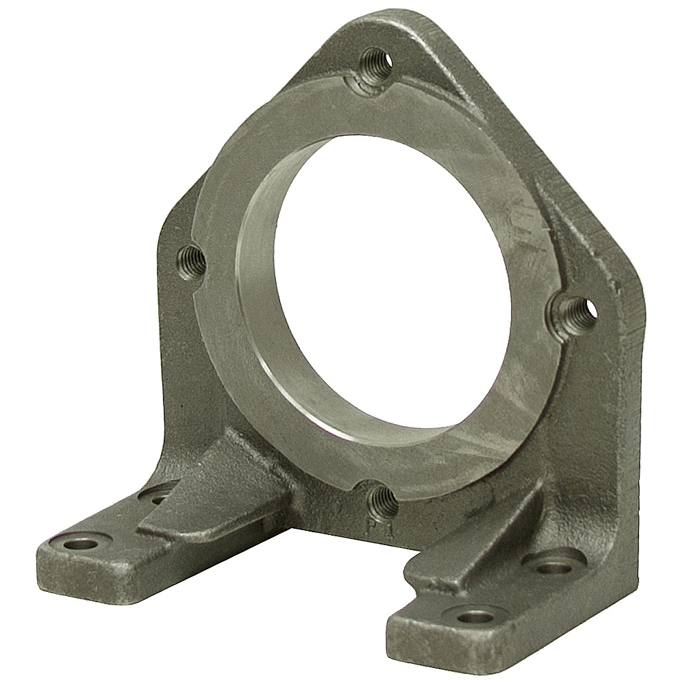Sae b 2 bolt cast iron pump foot mount for Hydraulic motor and pump