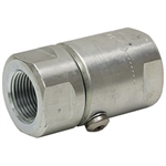 "1/4"" NPTF x 1/4"" NPTF Live Swivel Coupling"