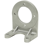 SAE A 2-Bolt Aluminum Pump Foot Mount