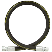 "1/2"" x 72"" JIC 10F Swivel x JIC 10F Swivel SAE 100R16 Hydraulic Hose Assembly 4000 PSI NRP Jones"
