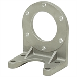 6-Bolt Aluminum Pump Foot Mount For TC Vane Pumps