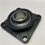 "2-3/16"" 4 Bolt Flange Bearing - Missing Lock Collar"