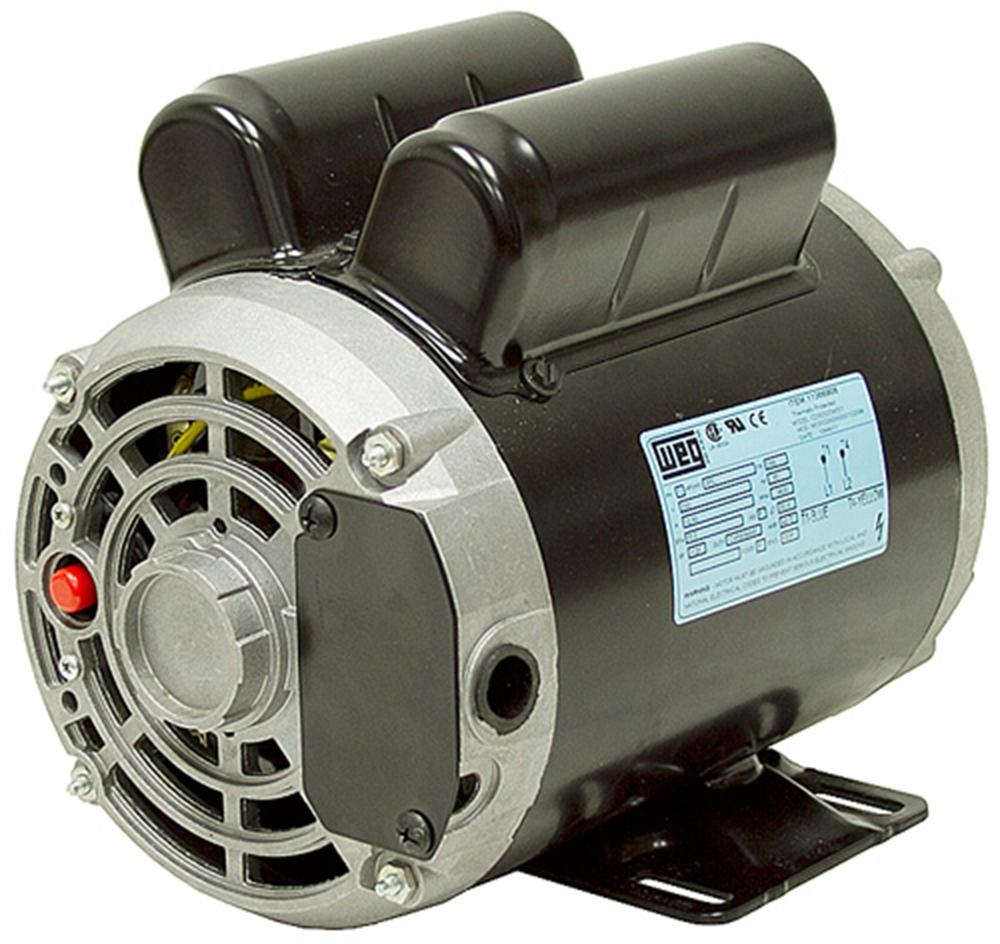3 hp 230 vac 3450rpm weg air compressor motor bargain for 3 hp air compressor motor