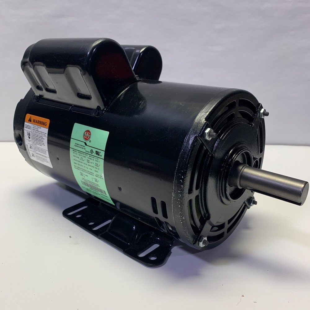 5 Hp 230 Vac 3450rpm Us Motor Air Compressor Motor