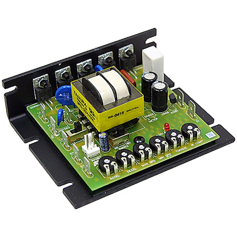 Control dc motor speed with potentiometer for 90 volt dc motor controller